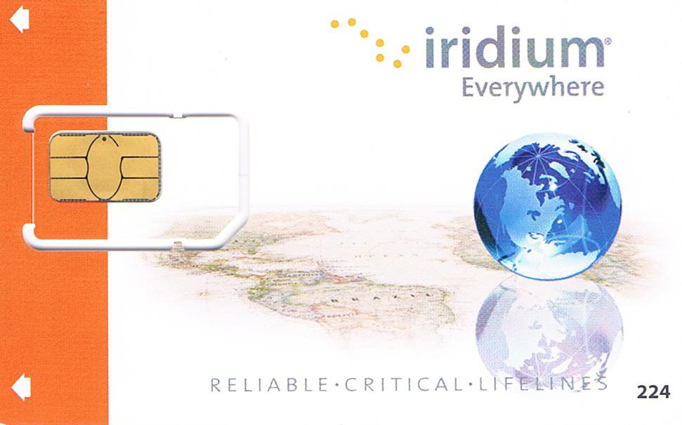 Iridium SIM Card Rental for Satellite Phone